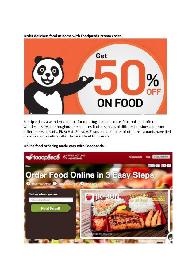 new user coupon code for foodpanda