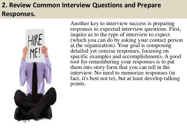 2nd Round Interview Tips