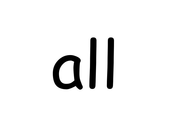all<br />