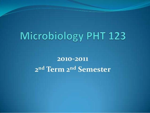 2010-20112nd Term 2nd Semester