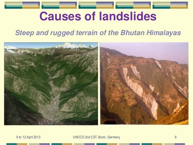 causes and mitigation strategies of landslides Landslides questions including a state where landslides are common and can an  erosion causes landslides  what are the mitigation strategies for landslides.