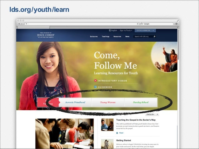 lds.org/youth/learn
