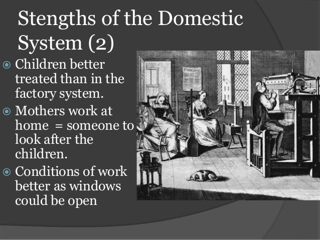 the domestic system of industry