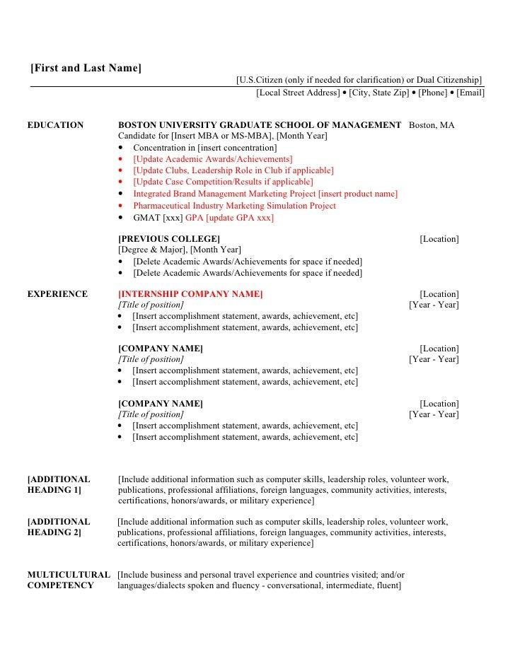 volunteer statements on resumes