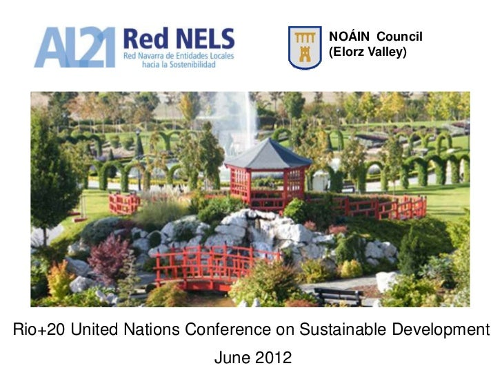 NOÁIN Council                                       (Elorz Valley)Rio+20 United Nations Conference on Sustainable Developm...