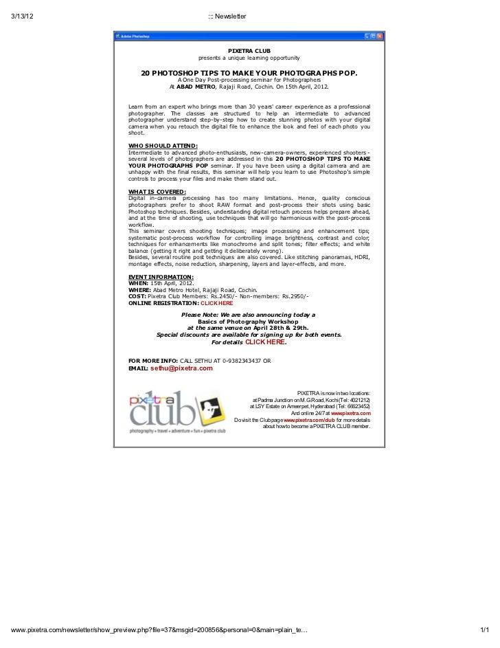 3/13/12                                                         ::: Newsletter                                            ...