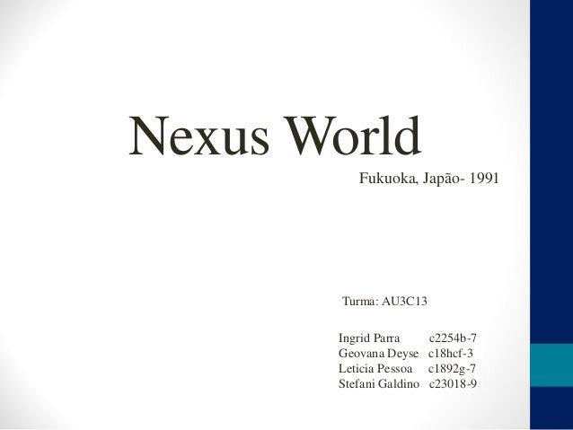 Nexus World Fukuoka, Japão- 1991 Ingrid Parra c2254b-7 Geovana Deyse c18hcf-3 Leticia Pessoa c1892g-7 Stefani Galdino c230...
