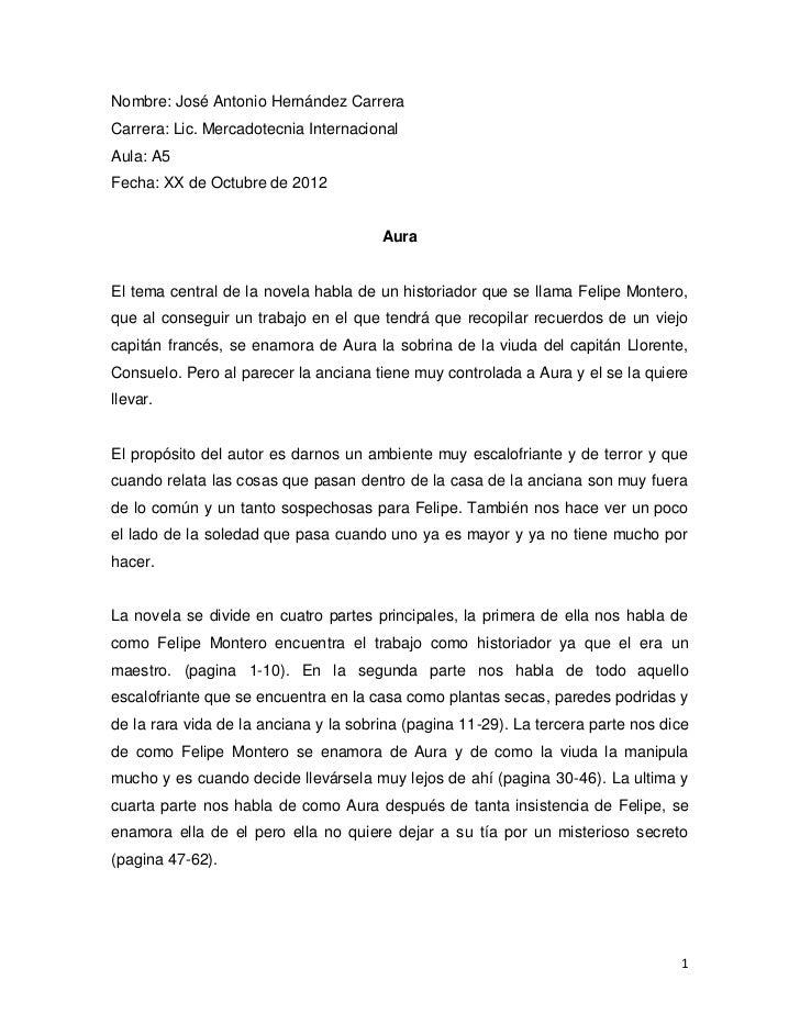 Nombre: José Antonio Hernández CarreraCarrera: Lic. Mercadotecnia InternacionalAula: A5Fecha: XX de Octubre de 2012       ...