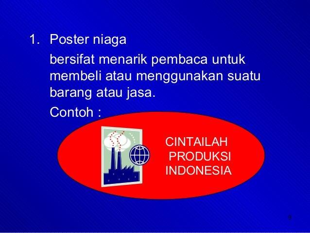 Poster slogan-iklan