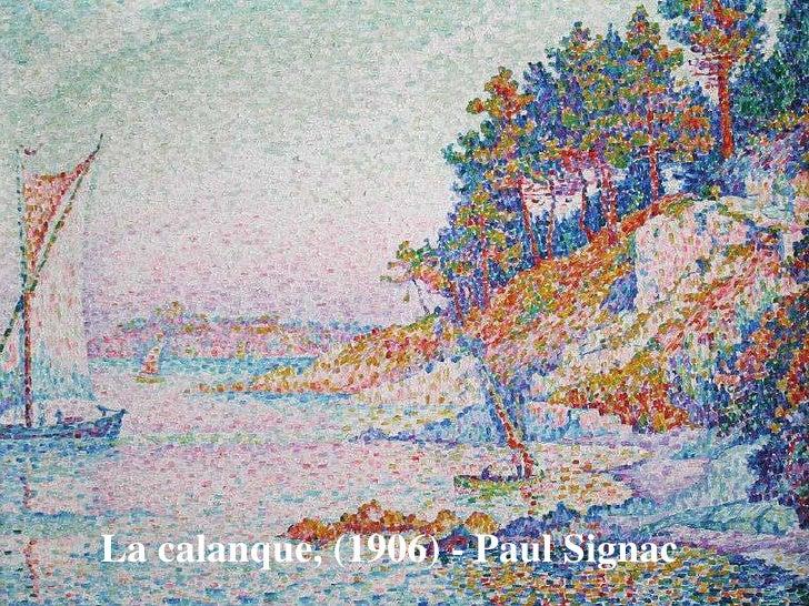 9o. Ano- A evolução do impressionismo- o pontilhismo ...