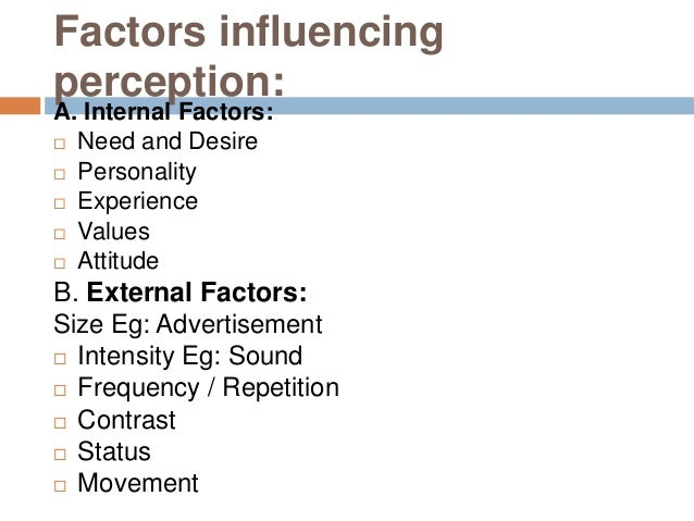 the importance of perception checking Perception checking can be a useful tool when you don't want to embarrass or directly threaten another person true the three phases of perception (selection, organization, and interpretation) that take place in an individual's mind can occur in differing sequences, with one influencing another.