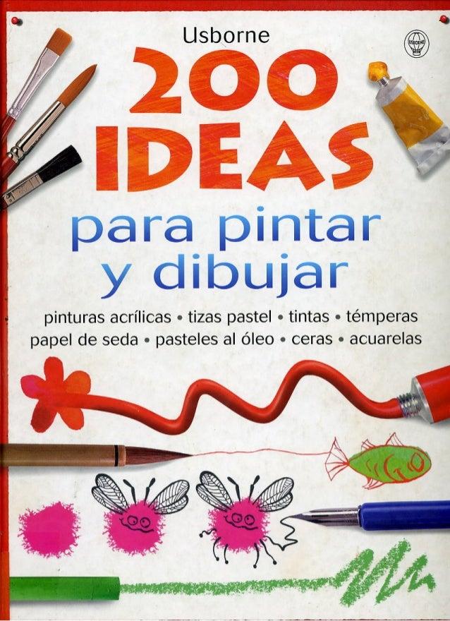 200 IDEAS PARA TRABAJAR PINTURA CON NUESTROS ESTUDIANTES EN CLASES