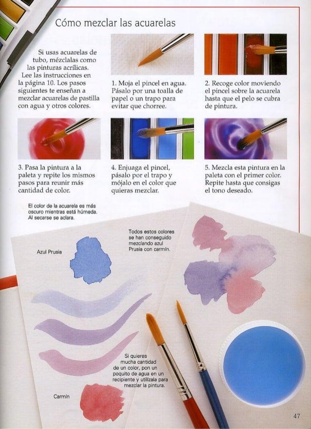 combinar papel y pintura