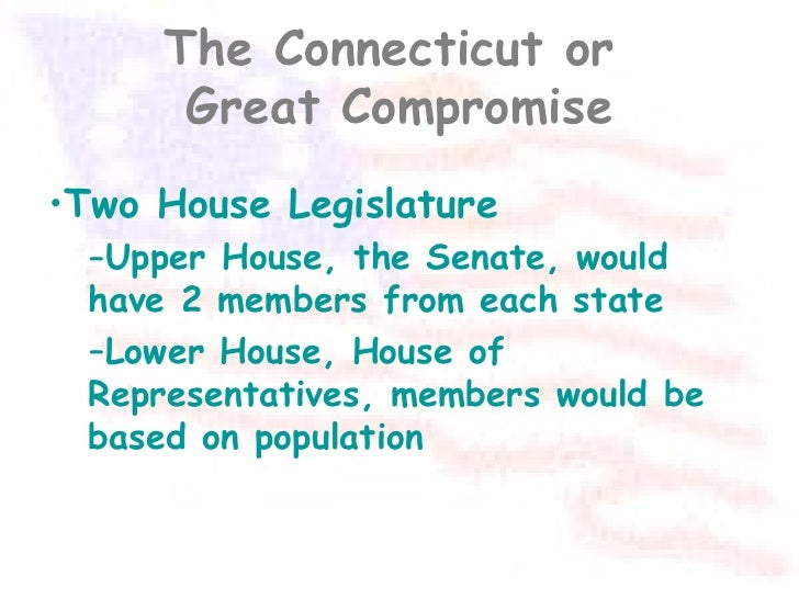 American goverment the great compromise