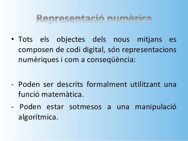 • Fa referència al llenguatge emprat pels  ordinadors, que es descriu amb codi binari (0 i  1) i que està format per bits ...