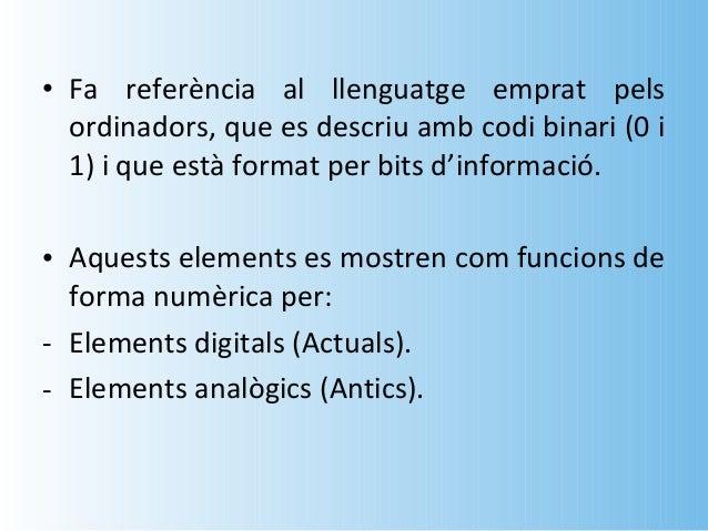 • La conversió d'un diari antic d'analògic a  digital a través d'un procés de digitalització.• L'ordinador converteix les ...