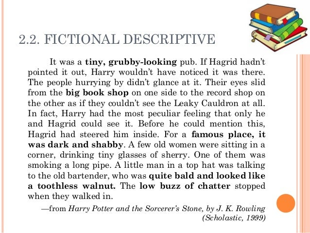 descriptive essay harry potter essay Evil has almost universally been connected with religion evil is most commonly associated with a material world of darkness, and is a destructive force opposing good.