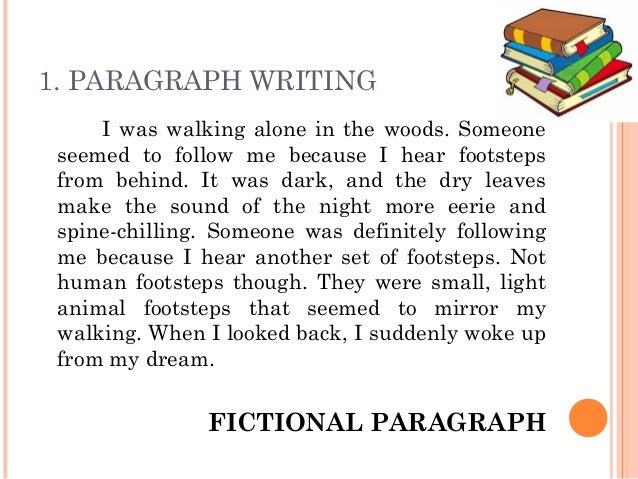 2 paragraph writing