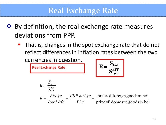 Exchange rate wikipedia