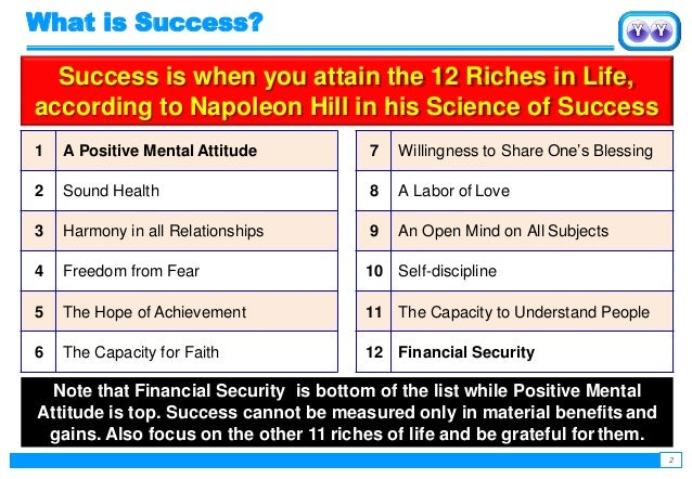 Achieving success with Personal Growth Plan  Slide 2