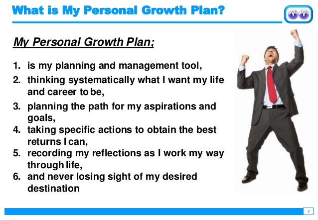 Achieving success with Personal Growth Plan  Slide 3