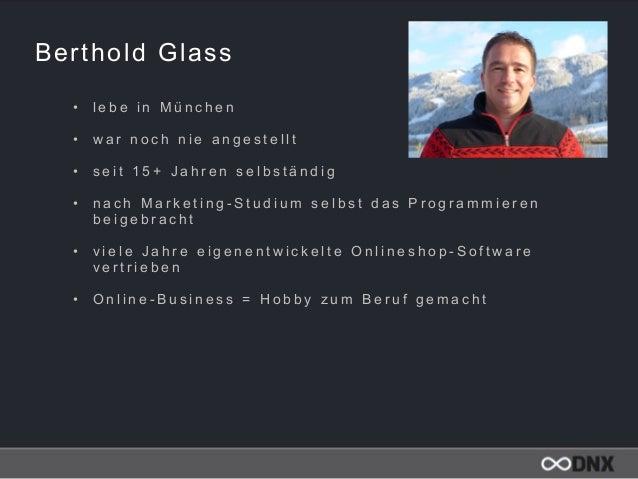 Berthold Glass • l e b e i n M ü n c h e n  • w a r n o c h n i e a n g e s t e l l t  • s e i t 1 5 + J a h r e n s e l...