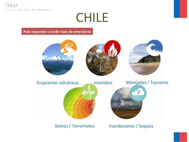 """Sr. Rodrigo Ortiz, """"El rol de la ONEMI ante emergencias, desastres y catástrofes: Desarrollo actual y desafíos futuros"""" Slide 2"""