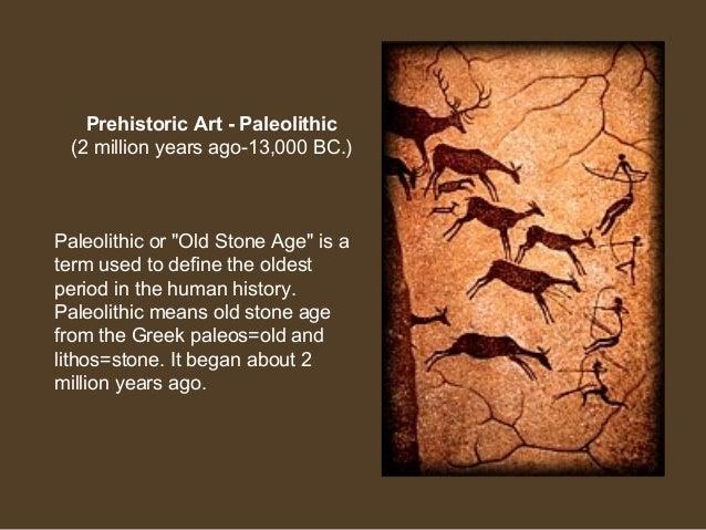 prehistoric art paleolithic