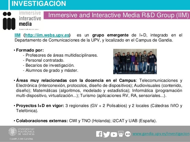 Immersive and interactive media Slide 2
