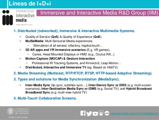 Immersive and interactive media Slide 3