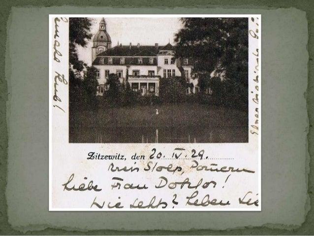  1860-62 – budowa nowej szkoły 1900- Sycewice mają 350 do 400 mieszkańców, uroczystość z okazji 600 -  lecia rodu von Zi...
