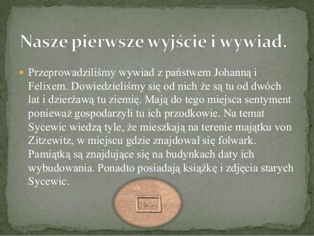 Szkoła Sycewice - wczoraj i dziś.