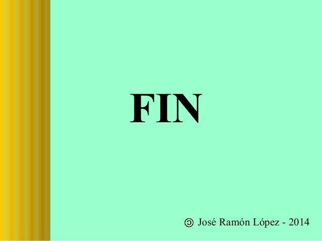 FIN José Ramón López - 2014