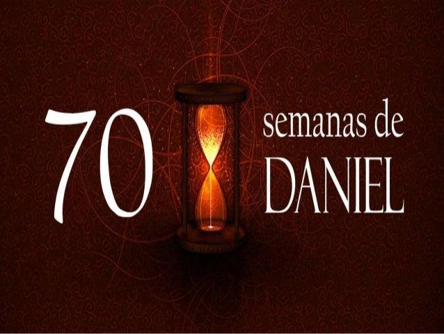 PRINCÍPIO DO FIM AS 70 SEMANAS DE DANIEL