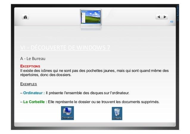 comment sortir un document de la corbeille windows 7