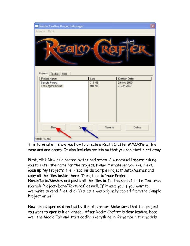 Tutorial Realm Crafter
