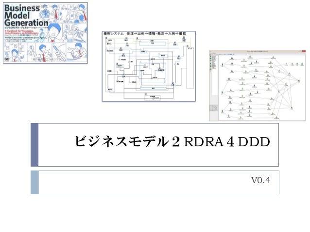 ビジネスモデル2RDRA4DDD V0.4