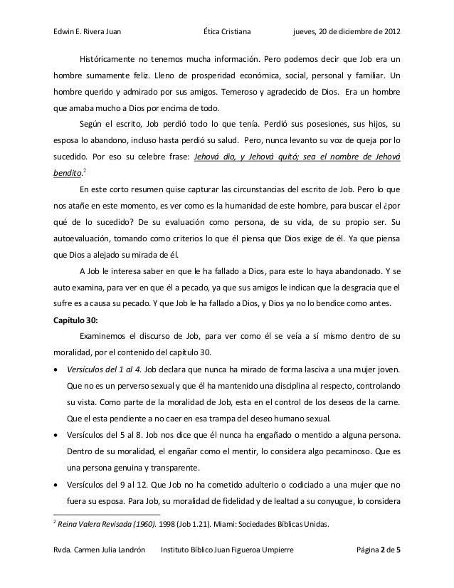 Edwin E. Rivera Juan                           Ética Cristiana            jueves, 20 de diciembre de 2012          Históri...