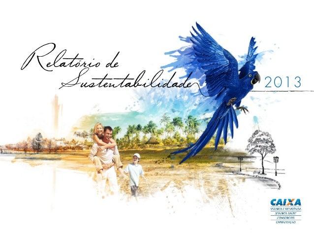 Relatorio de Sustentabilidade 2013