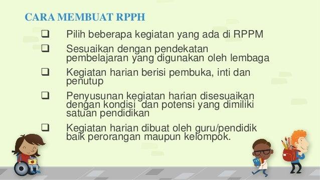 RPP PAUD KURIKULUM 2013 PPT
