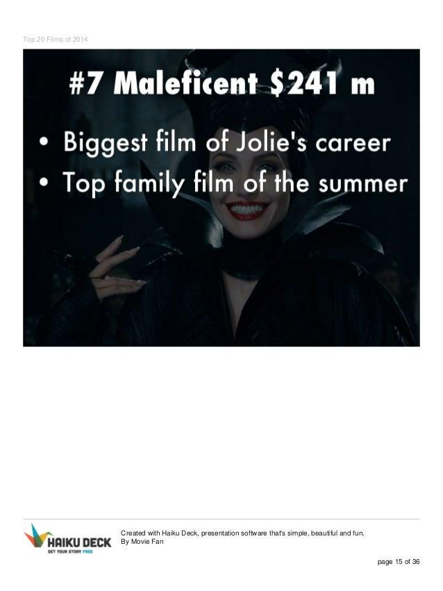 top 20 films of 2014