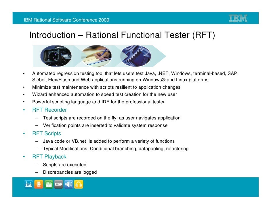 Automated Testing Unified Functional Testing UFT Software Tool