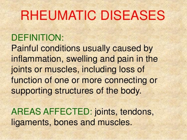Rheumatic and Granulomatous Diseases
