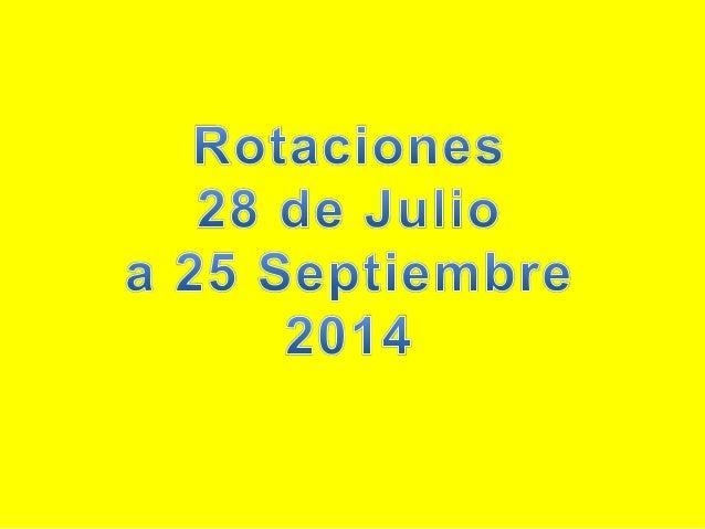 ROL JULIO 2014 A ENERO 2015