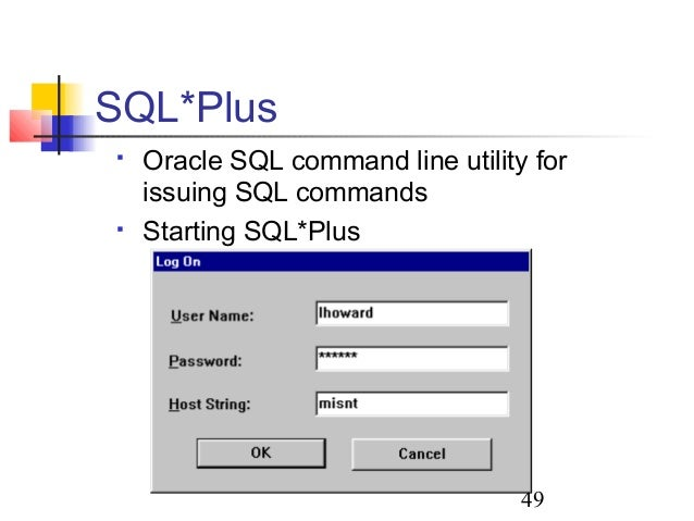Csc 240 (blum)1 introduction to oracle. Csc 240 (blum)2 start.