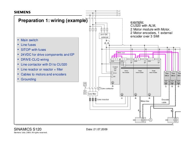 line array wiring diagram 2 s120 commissioning #14