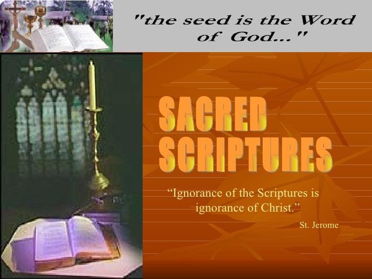 2 sacred scriptures