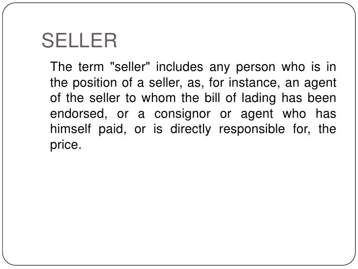 "rights of unpaid sellers against the It provides: 38(i) the seller of goods is deemed to an ""unpaid seller"" within the meaning of this act— (a) the rights of an unpaid seller."