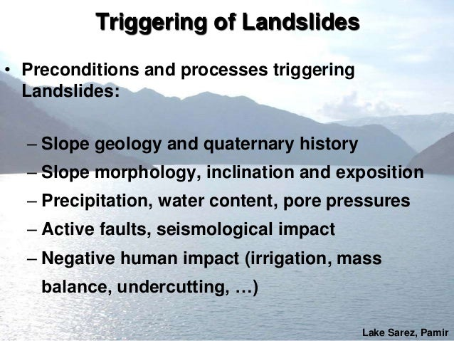 Schneider - Impact of Largelandslide Slide 3