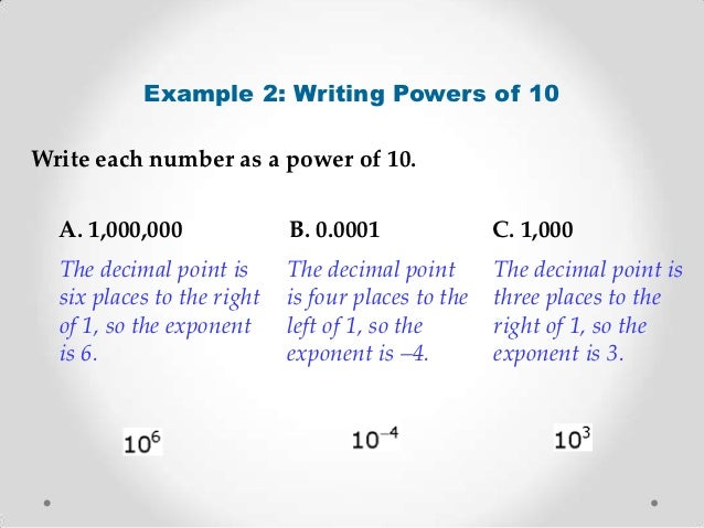 scientific notation essay That's why we use scientific notation scientific notation uses powers of 10 and  exponents to write a convenient form of numbers that contain lots of zeros.